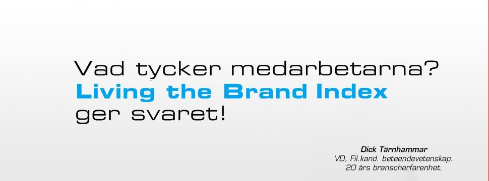 Living the brand index ger svaret